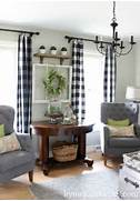 Living Room Curtains Decorating Ideas by 35 Best Farmhouse Living Room Decor Ideas And Designs For 2017