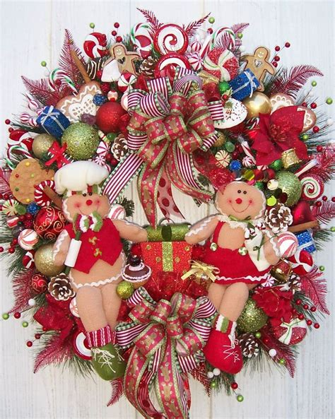 another gingerbread wreath christmas traditions pinterest