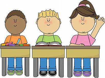 Clipart Desk Kid Student Clipground