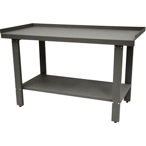 metal work bench homak 59in steel workbench model gw00550150 northern