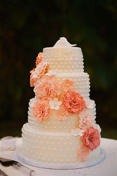 291 Best Images About Peach Wedding Peach And Cream On