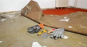 comment retirer une vieille moquette With comment decoller une moquette au sol