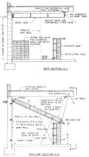 fema plans   bar  folds   fallout shelter