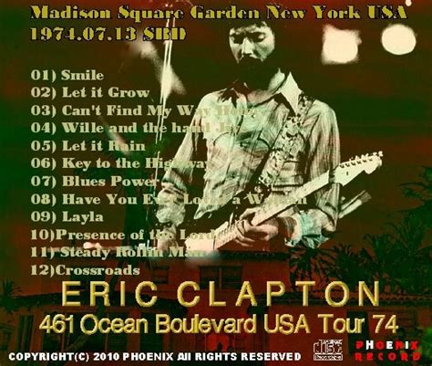 eric clapton quot can t find my way home quot guitar tab コレクターズcd eric clapton エリッククラプトン 74年アメリカツアー 461 New