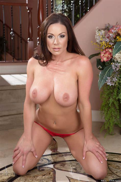 busty brunette is wearing red lingerie photos kendra lust brick danger milf fox