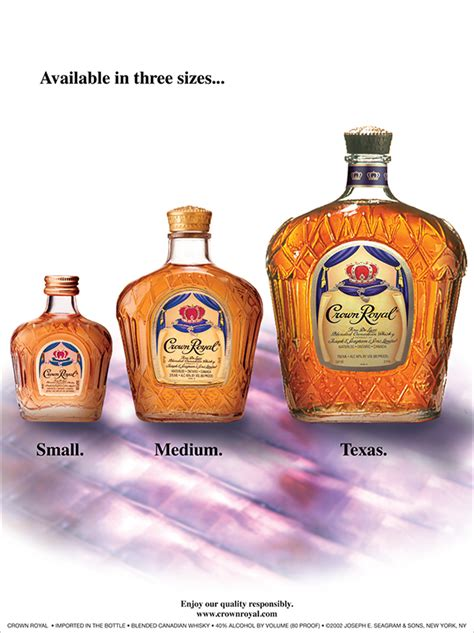 crown royal   premise promotional advertising