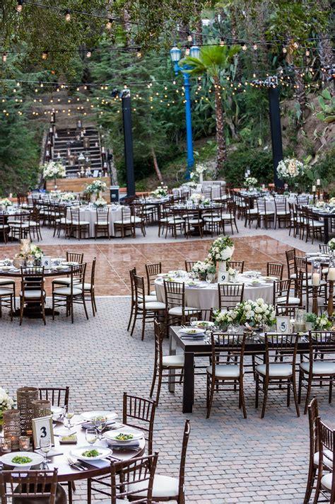 rancho las lomas terraza wedding reception outdoor
