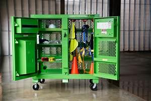 Knaack Presents Safety Kage Cabinet