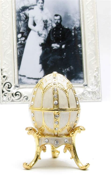 faberge egg wedding ring box so such a sad ending to such a story