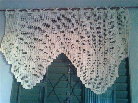 cortina de croche  cozinha total construcao