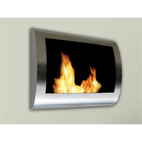 anywhere fireplace chelsea wall mount ethanol fireplace - Indoor Biofuel Fireplace