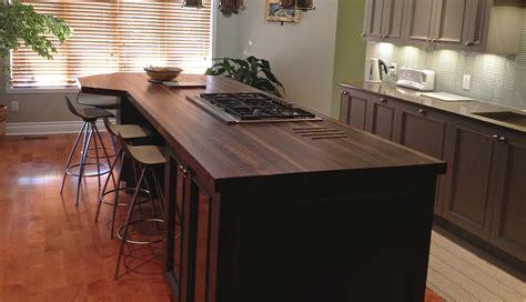 comptoir bois cuisine comptoir de cuisine en bois bambou wraste com