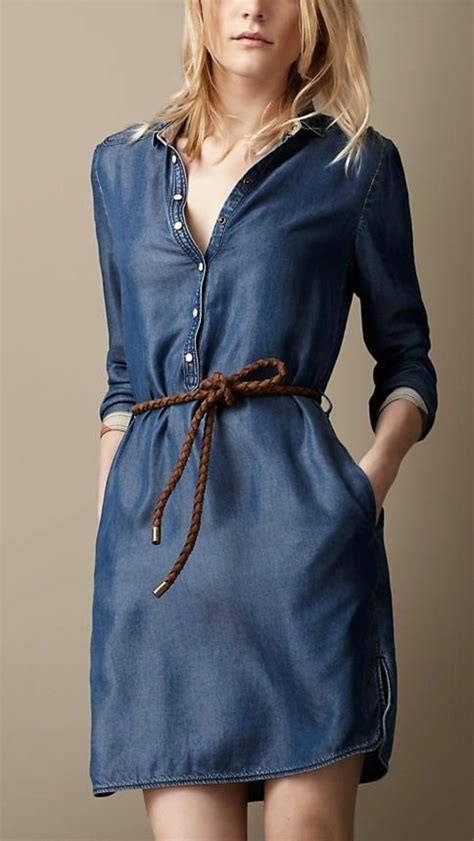 sleeve denim dress with belt jeanskleider so zeigen sie stil mit einem jeanskleid