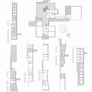 Casa Weiss Dwg Download Louis Kahn Progetto  Avec Images