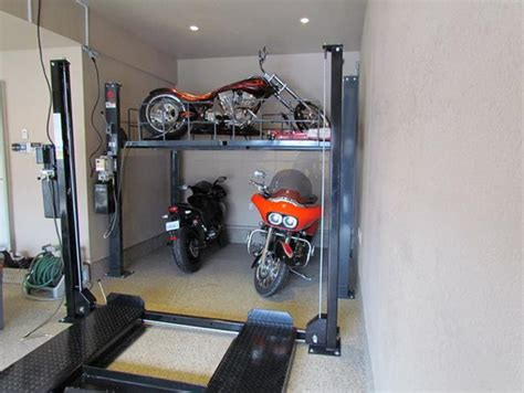 4 Highly Effective Motorcycle Garage Storage Solutions