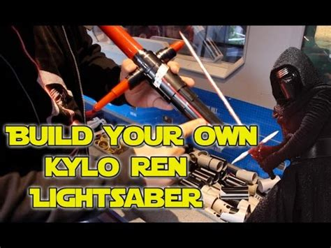 Star Wars  Build Your Own Kylo Ren Lightsaber Toy At