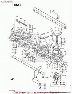 Suzuki Gs1100 Gk 1982 1983 Usa