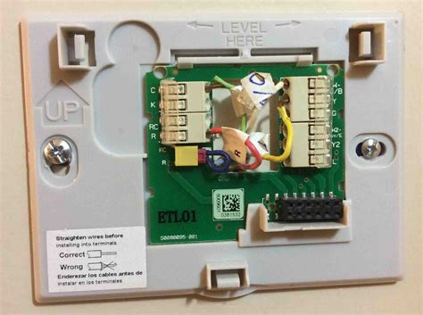 wiring diagram for honeywell wall thermostat honeywell smart thermostat wiring rth9580wf