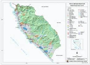 peta kota peta kabupaten aceh jaya