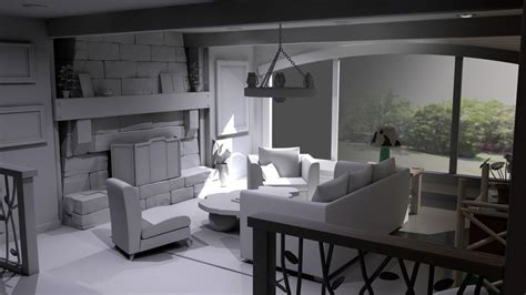 modeling interiors  maya digital tutors maya