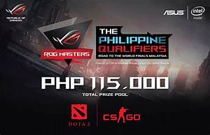 ASUS ROG Masters 2016 Gaming Tournament For DOTA 2 And CS