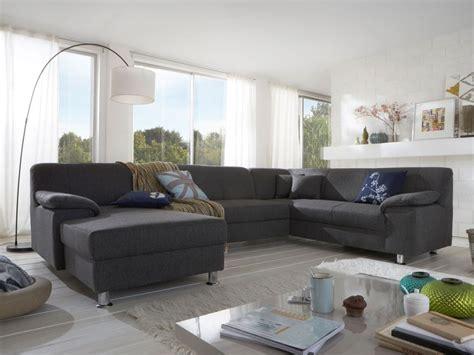 Wohnzimmer U Form by Almo U Form Mit Hohen R 252 Cken Grau Wohnzimmer Sofa