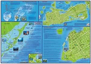 Florida Keys Adventure  U0026 Dive Map