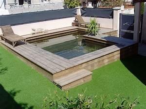 Piscine Hors Sol : piscine hors sol en bois sur mesure haut de gamme natura ~ Melissatoandfro.com Idées de Décoration