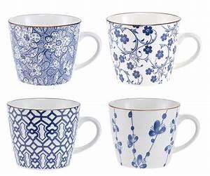 Geschirr Blau Weiß : 4er set becher china blau wei servies enzo pinterest becher blau und glaskugel ~ Markanthonyermac.com Haus und Dekorationen