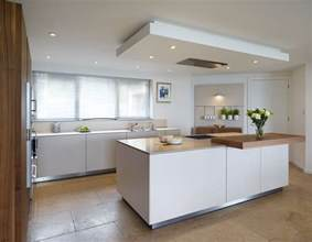 kitchen island extractor the drop ceiling creates a flush fit extractor above the central bulthaup b3 island kitchens