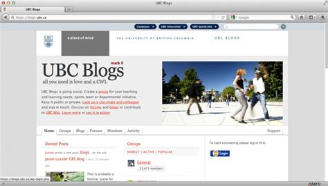 Blogs and wikis in formal higher education: examples of ...