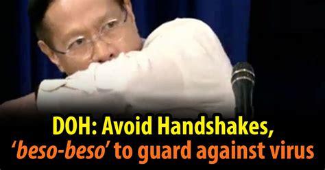 Doh Avoid Handshakes 'beso Beso To Guard Against Virus