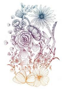 Flower Tattoo Drawings Tumblr
