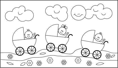 Kleurplaat Geboorte Baby by Kleurplaat Geboorte Meisje