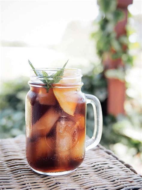 Southern Sweet Tea With A Secret Ingredient   Garden Betty