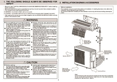 Mitsubishi Air Conditioner Installation by Mitsubishi Mxz 3a54va Mxz 4a71va Air Conditioner
