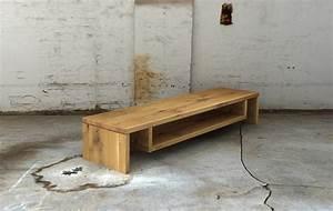 Tv Board Holz Massiv Hause Deko Ideen