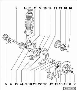 Volkswagen Workshop Manuals  U0026gt  Golf Mk3  U0026gt  Running Gear