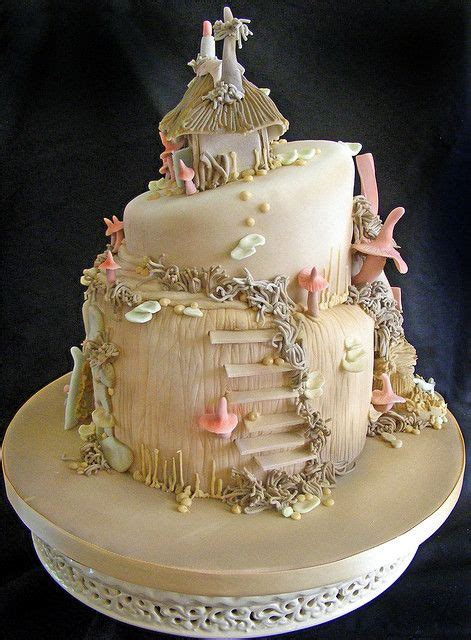 fairytale cakes rustic folk weddings