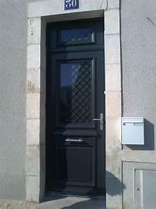 porte exterieure bourges decouvrez nos realisations en With porte d entrée pvc avec fenetre pvc gris