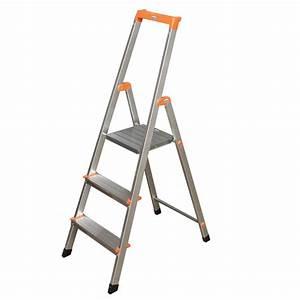 Leiter 3 Stufen : krause monto aluleiter stehleiter klappleiter haushaltsleiter stufenstehleiter ebay ~ Markanthonyermac.com Haus und Dekorationen