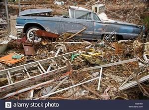 Damage caused by Hurricane Katrina Waveland Mississippi ...