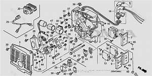 Honda Rv Generator Parts Ev6010 Ba Vin  Ecb