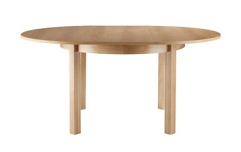 table de cuisine ronde pas cher table ronde 115 165 ruben naturel tables but