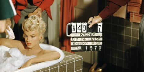 Exclusive Behind The Scenes Images Of Marilyn Monroe On