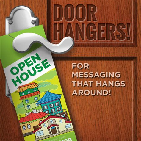 cheap door hangers print services local impact marketing