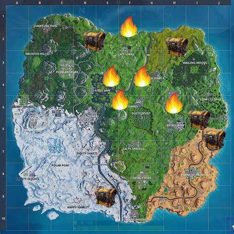 fortnite chest map season  fortnite  tier