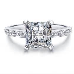 square cut engagement rings fashion 925 sterling silver rings for princess cut engagement rings square cz