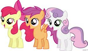 vanilla orchid my pony scootaloo and sweetie moggymawee