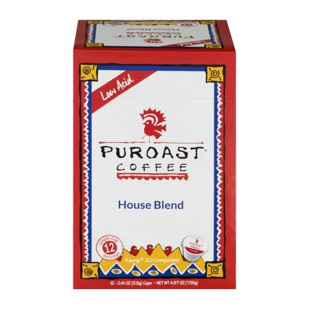 Puroast coffee has altogether 3 products in comparaboo's top 10 lists. Puroast Coffee Low Acid House Blend Cups - 12 CT - Walmart.com